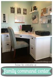 corner office desk ideas. 20 fabulous command centers corner office desk ideas o