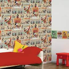 Minnie Mouse Bedroom Wallpaper Minnie Mickey Mouse Wall Decorations Graham Brown