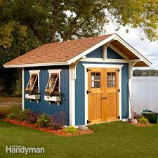 Small Picture Shed Plans Storage Shed Plans The Family Handyman