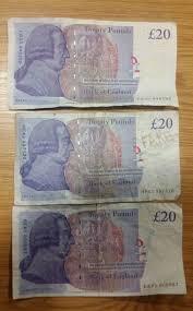Fake 20 Pound Note Under Uv Light Police Warn About Fake 20 Notes Circulating In Preston