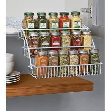 Rubbermaid Coated Wire In Cabinet Spice Rack Rubbermaid PullDown Spice Rack Clever design Clever and Construction 13