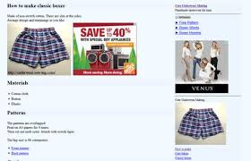 Boxer Pattern Best 48 Free Boxers And Underwear Sewing Patterns
