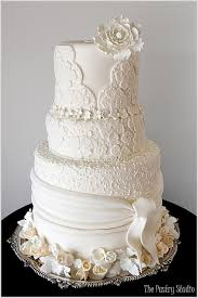 Designer Wedding Cakes Recreating Elements Of The Wedding Dress Into
