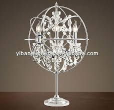 magnificent white chandelier table lamp white diamond chandelier table lamp