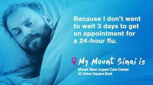 Union Square Urgent Care Mount Sinai New York