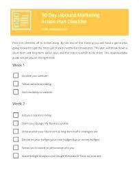 90 Day Marketing Plan Template Day Marketing Plan Template