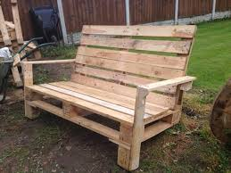 Stunning Bench Made Out Of Pallets Pallet Two Seater Home Design And  Stunning Lighting Wall