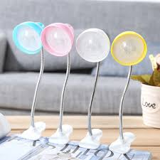 Push Button Battery Lights Us 3 12 60 Off Cap Lampshade Led Clip Desk Lamp Push Button Switch College Dorm Eye Care Study Reading Light Button Battery Led Table Lamps In Desk