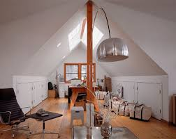 attic home office. Attic Home Office With Ample Space And Natural Light