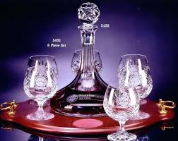 epure brandy glass set image 0 personalised the best home 3 piece decanter and gift