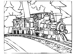 Small Picture Polar Express Coloring Pages Best Coloring Pages For Kids