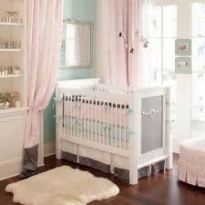 white thick feather rug and pink crib curtain for girls crib bedding bedroom ideas for kids girl bedroom designs