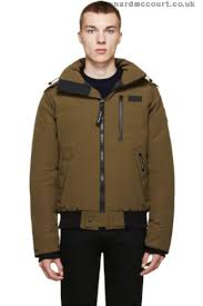 Canada Goose Men Green Borden Bomber QSNZ5D