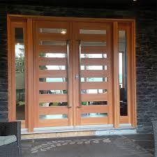 custom solid wood doors madawaska