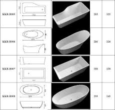 endearing standard size bathroom design ideas and normal length of regarding bathtub dimensions idea 33