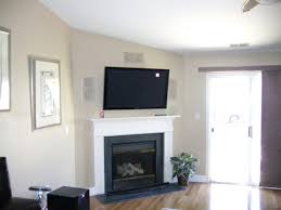 mounting flat screen tv over gas fireplace above gallery panel stone mounting flat screen tv over gas fireplace
