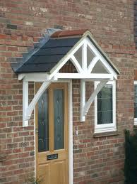 front door overhang refreshing front door awning diy