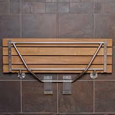 bathroom awesome modern shower stool design shower slatted wall mounted