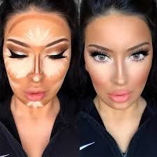 playing around with contour lines is easy contours makeup and makeup hacks