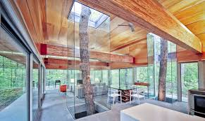 architecture houses glass. Stunning West Virginia Home Showcases Trees As Living Works Of Art Architecture Houses Glass I