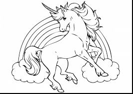 Coloring Pages Unicorns Luxury Realistic Winged Unicorn 1200848