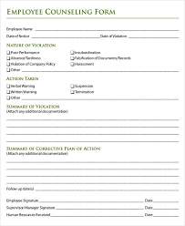 Employee Disciplinary Write Up Free Disciplinary Forms Sample Of Certificate Of Clearance For
