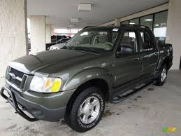 2004 Estate Green Metallic Ford Explorer Sport Trac Xlt 4x4