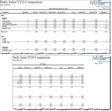 Sales Summary Analysis Daily