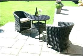 small outdoor table set bistro and 2 chairs