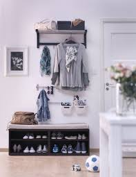 Ikea Hemnes Coat Rack 100 Mudroom And Hallway Storage Ideas Shelterness 68