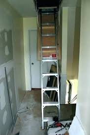 cost to install attic ladder how to install attic stairs pull down steps cost installing new cost to install