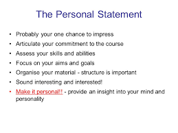 Personal Statement For College Writing A Successful Personal Statement College Essay Ppt Download
