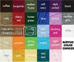 Crochet Animal Hats Read Heart Yarn Color Chart Free Red