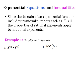 13 exponential equations