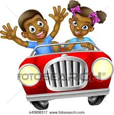 car driving fast clipart. Simple Fast A Boy And Girl Having Fun Driving Fast In A Car On Road Trip And Car Driving Fast Clipart N