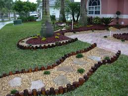 Small Picture Front Yard Landscape Ideas With Stones The Garden Inspirations