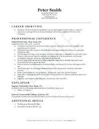 Resume Objective For Paralegal Paralegal Resume Objective Examples dwighthowardallstar 33