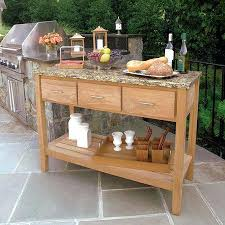 outdoor serving tables best ideas about buffet on table15