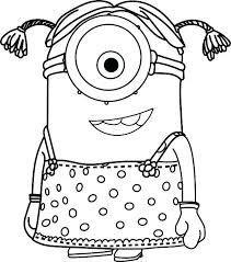 Minions Coloring Pages Pdf And Minions Coloring Pages Idea For