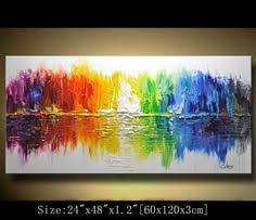wall paintings for office. Contemporary Wall Art,Abstract Painting,Modern Impasto Textured Landscape Painting,Palette Knife Painting,Painting On Canvas By Chen #1 Paintings For Office I