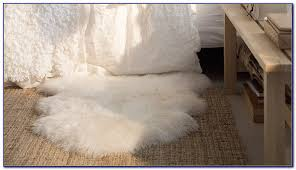 real sheepskin rug ikea rugs home design ideas clean real sheepskin rug