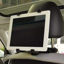 Bộ giá đỡ máy tính bảng, ipad sau ghế xe ô tô (Đen)(Đen)