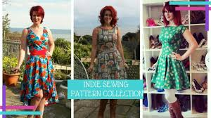 Indie Sewing Patterns Fascinating My Indie Sewing Pattern Collection 48 Vlog 48 YouTube