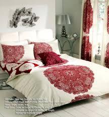 manhattan cream red duvet cover sets quilt cover sets reversible bedding sets