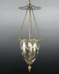 bell jar lantern ll chandelier lighting etching glass bell jar lantern antique brass