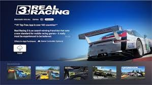 real racing 3 for apple tv now
