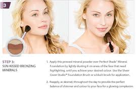 Sheer Cover Mineral Foundation Color Chart How To Apply Mineral Make Up From Sheer Cover Studio