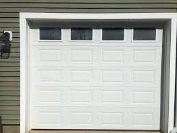foot wide 8 ft tall garage door with the tracks 10 decorating small spaces