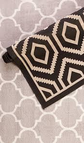 go bold with a geometric rug