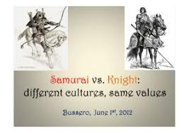 Samurai Vs Knight Venn Diagram Knights And Samurai